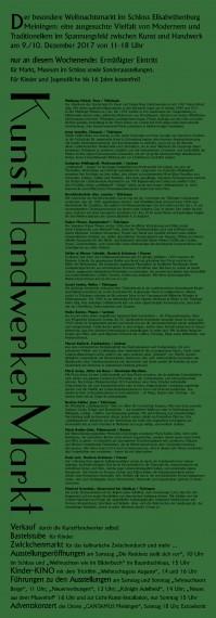 Folder-Plakat 19. Kunsthandwerkermarkt-b