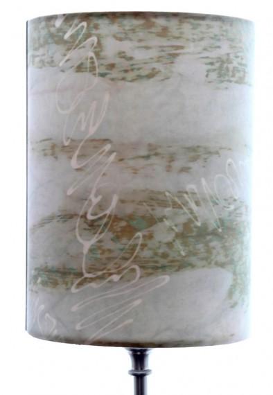 Schrift Tischleuchte Detail